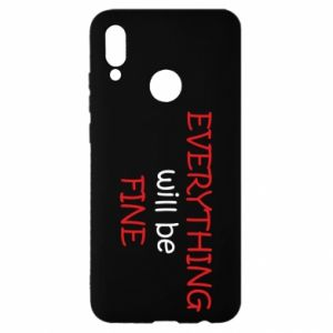 Etui na Huawei P Smart 2019 Everything will be fine