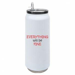 Puszka termiczna Everything will be fine