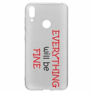 Etui na Huawei Y7 2019 Everything will be fine