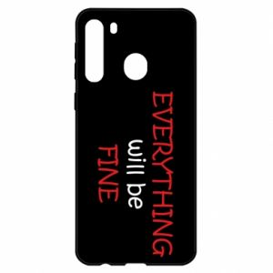 Etui na Samsung A21 Everything will be fine