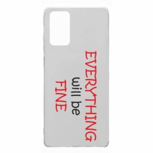 Etui na Samsung Note 20 Everything will be fine
