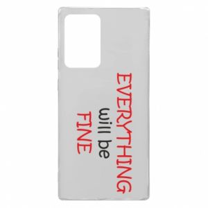 Etui na Samsung Note 20 Ultra Everything will be fine