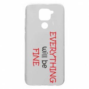 Etui na Xiaomi Redmi Note 9/Redmi 10X Everything will be fine