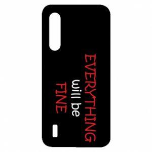 Etui na Xiaomi Mi9 Lite Everything will be fine