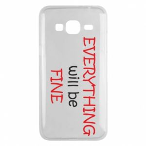 Etui na Samsung J3 2016 Everything will be fine