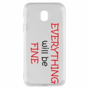 Etui na Samsung J3 2017 Everything will be fine