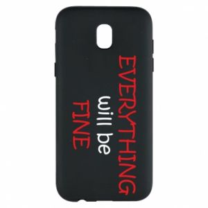 Etui na Samsung J5 2017 Everything will be fine