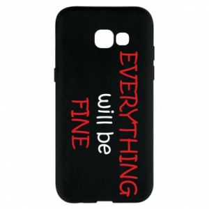 Etui na Samsung A5 2017 Everything will be fine