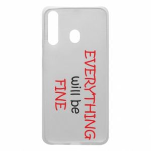 Etui na Samsung A60 Everything will be fine