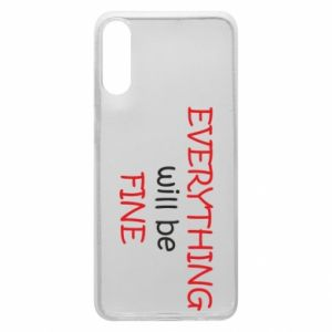 Etui na Samsung A70 Everything will be fine