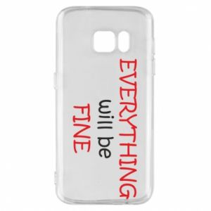Etui na Samsung S7 Everything will be fine