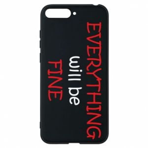 Etui na Huawei Y6 2018 Everything will be fine