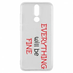 Etui na Huawei Mate 10 Lite Everything will be fine