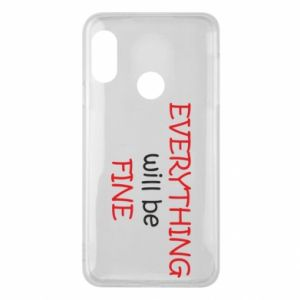 Etui na Mi A2 Lite Everything will be fine