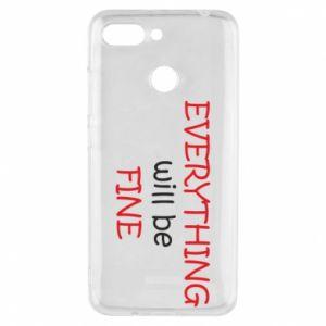 Etui na Xiaomi Redmi 6 Everything will be fine