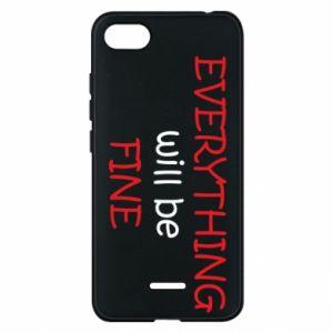Etui na Xiaomi Redmi 6A Everything will be fine