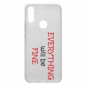 Etui na Xiaomi Redmi 7 Everything will be fine