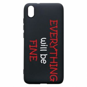 Etui na Xiaomi Redmi 7A Everything will be fine