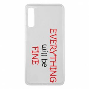 Etui na Samsung A7 2018 Everything will be fine