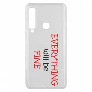 Etui na Samsung A9 2018 Everything will be fine