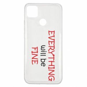 Etui na Xiaomi Redmi 9c Everything will be fine
