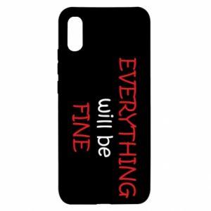Etui na Xiaomi Redmi 9a Everything will be fine