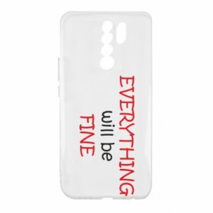 Etui na Xiaomi Redmi 9 Everything will be fine