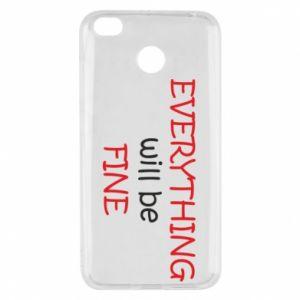 Etui na Xiaomi Redmi 4X Everything will be fine