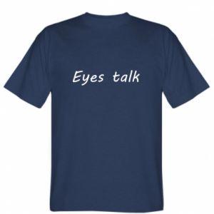 Koszulka męska Eyes talk
