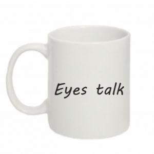 Kubek 330ml Eyes talk