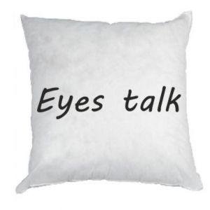 Poduszka Eyes talk