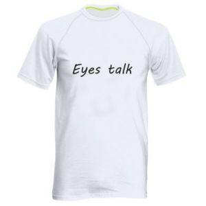 Koszulka sportowa męska Eyes talk