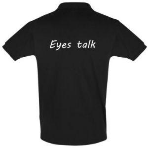 Koszulka Polo Eyes talk