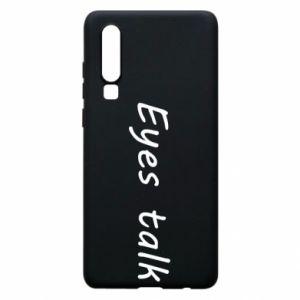Etui na Huawei P30 Eyes talk
