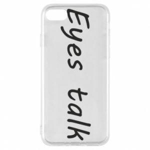 Etui na iPhone 8 Eyes talk