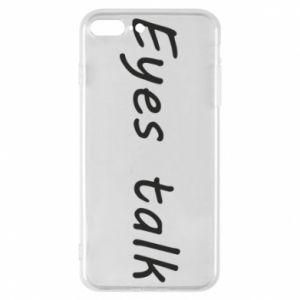 Etui na iPhone 8 Plus Eyes talk