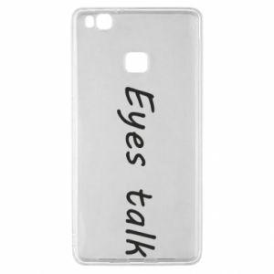 Etui na Huawei P9 Lite Eyes talk