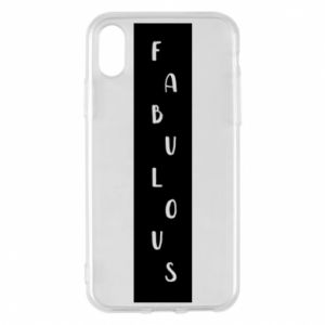 Etui na iPhone X/Xs Fabulous