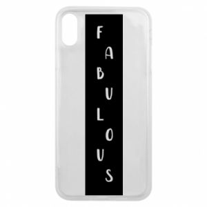 Etui na iPhone Xs Max Fabulous