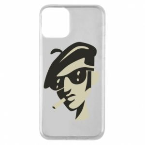 iPhone 11 Case Guy with a cigarette