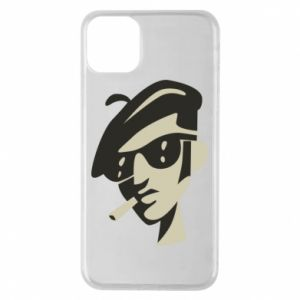 iPhone 11 Pro Max Case Guy with a cigarette