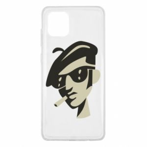 Samsung Note 10 Lite Case Guy with a cigarette