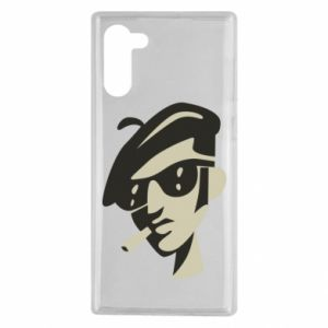 Samsung Note 10 Case Guy with a cigarette