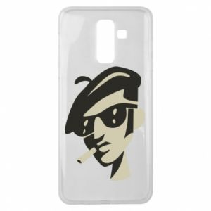 Samsung J8 2018 Case Guy with a cigarette