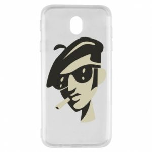 Samsung J7 2017 Case Guy with a cigarette