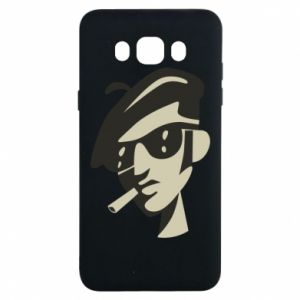 Samsung J7 2016 Case Guy with a cigarette