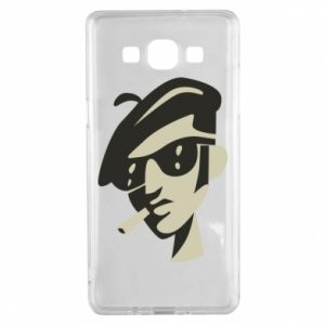 Samsung A5 2015 Case Guy with a cigarette