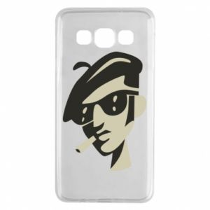 Samsung A3 2015 Case Guy with a cigarette