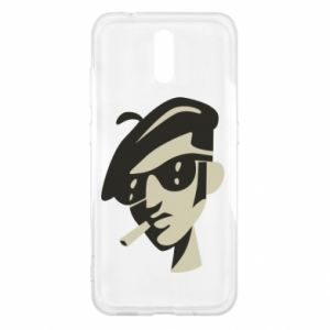 Nokia 2.3 Case Guy with a cigarette