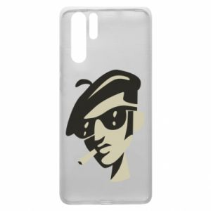Huawei P30 Pro Case Guy with a cigarette